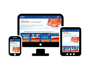 Easy to use responsive Website